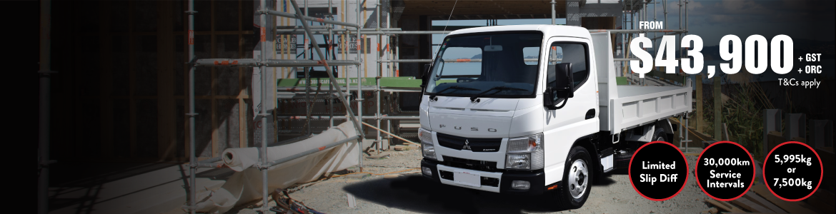Fuso Canter Tipper special price