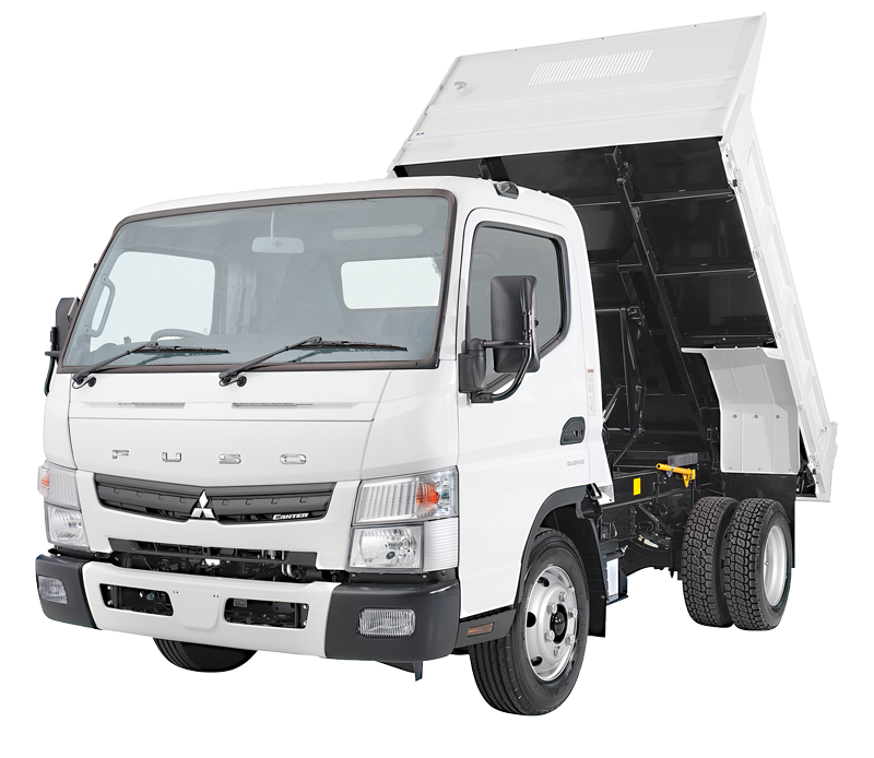 Fuso Canter Tipper Trucks - Light Tipper Trucks | Fuso © NZ