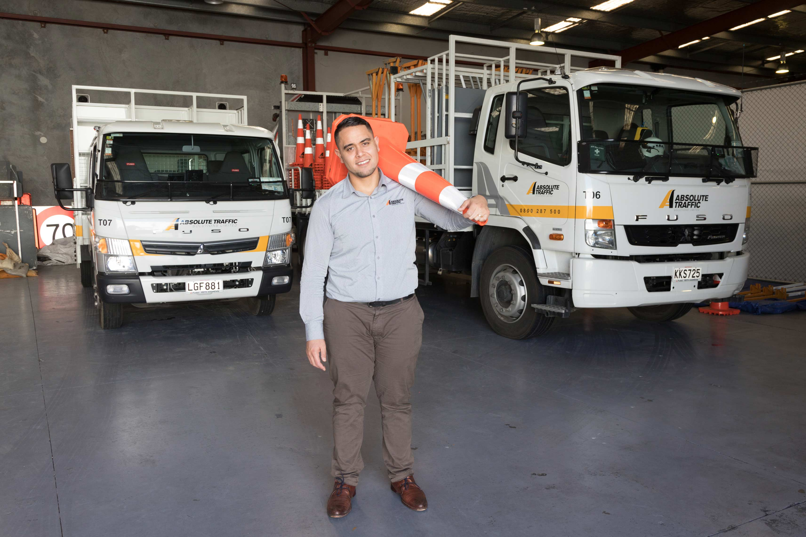 Absolute Traffic Solutions | Fuso © NZ