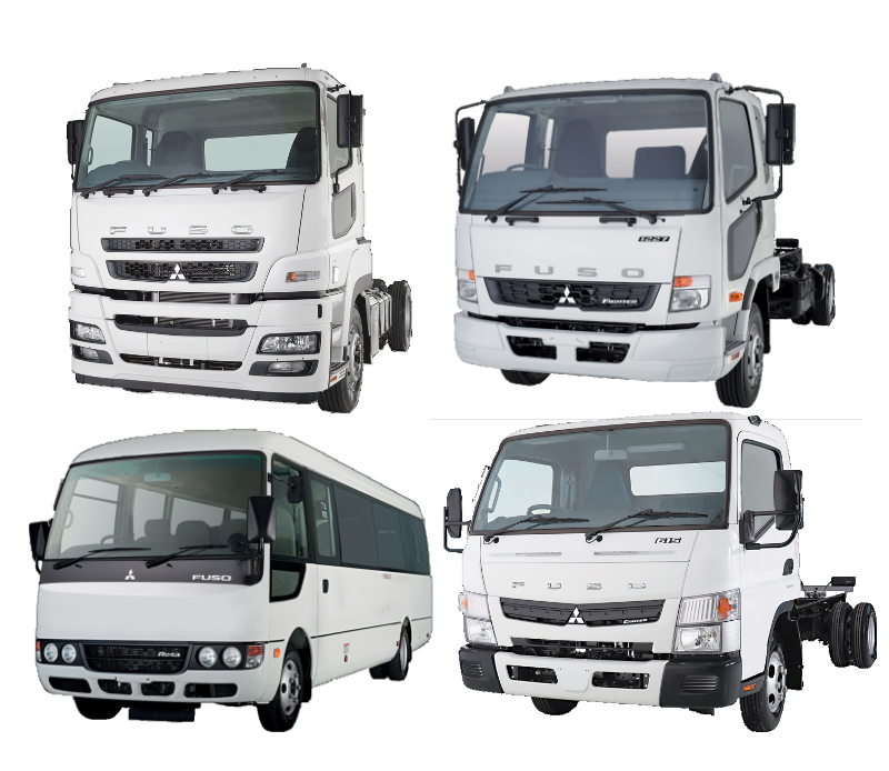 View All Fuso Canter Light Commercial Truck Models