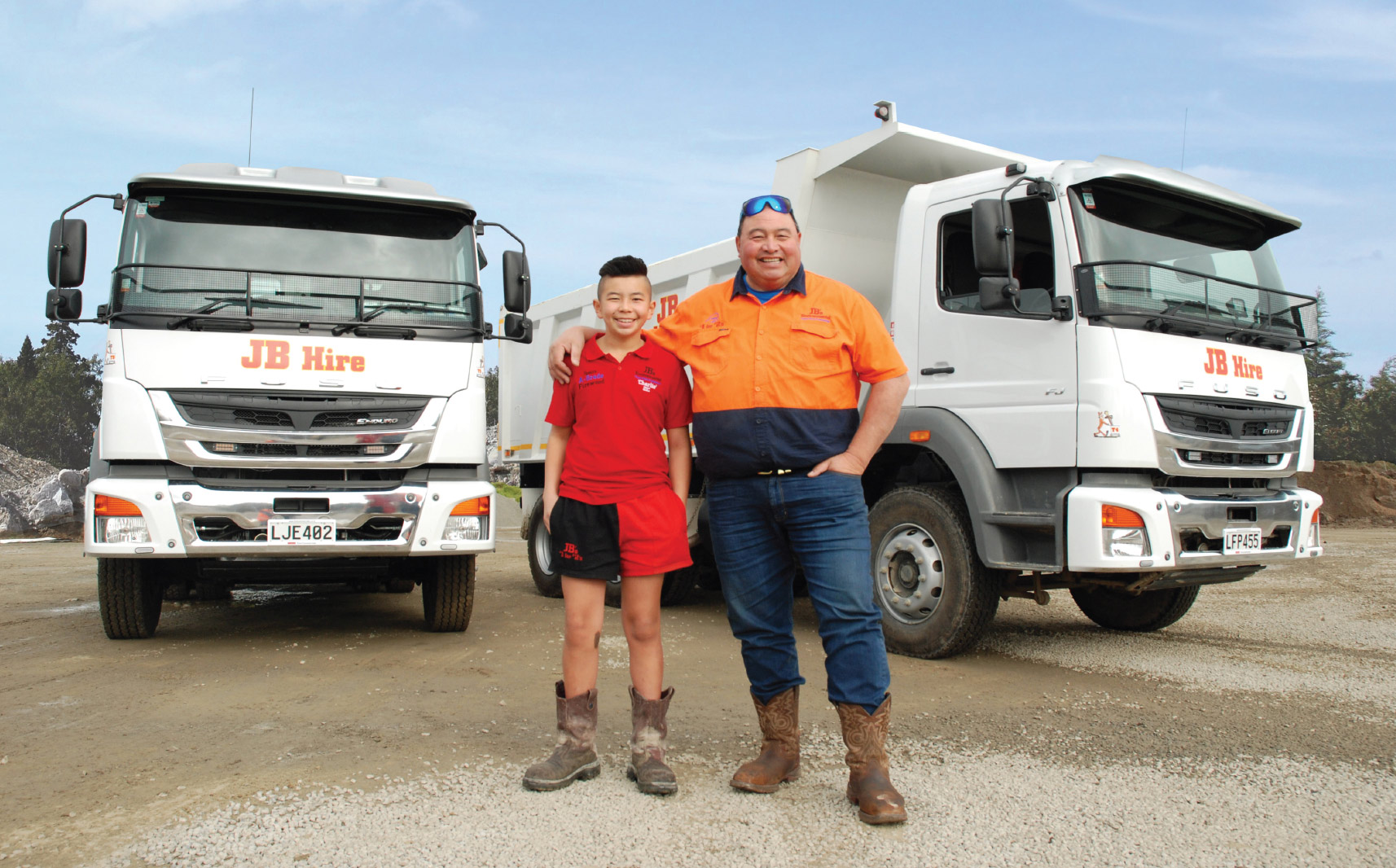 Fuso NZ and JB Hire