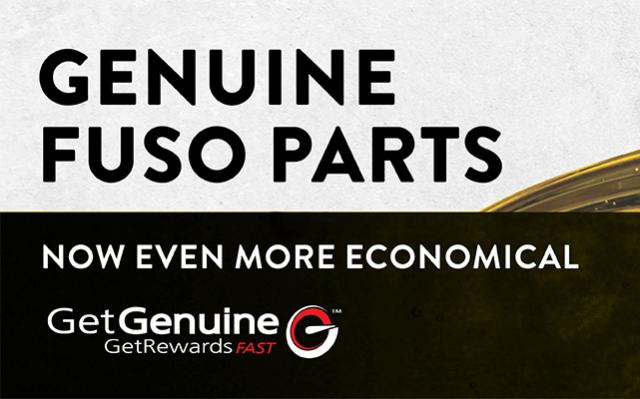 FUSO genuine parts offer 1