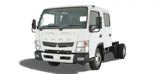 New FUSO Canter truck
