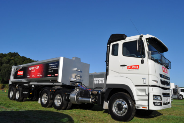 Fuso chases market leader