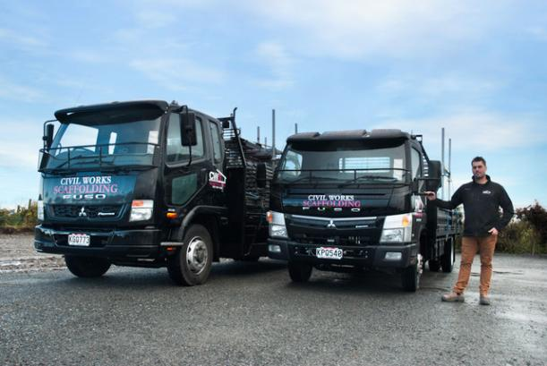 Civil Works Scaffolding and Fuso New Zealand