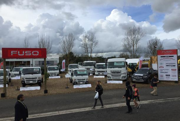 Fuso at Fieldays