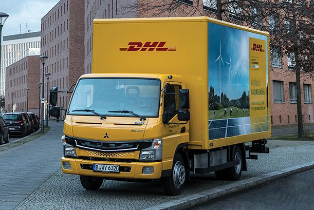 DHL leading the way with electric technology