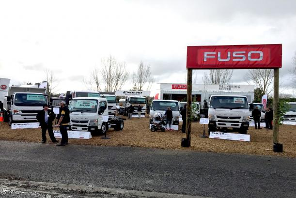 Fuso NZ at Fieldays