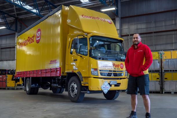 Courier Post and Fuso NZ
