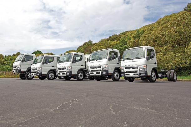 FUSO Canter - NZ's safest light truck